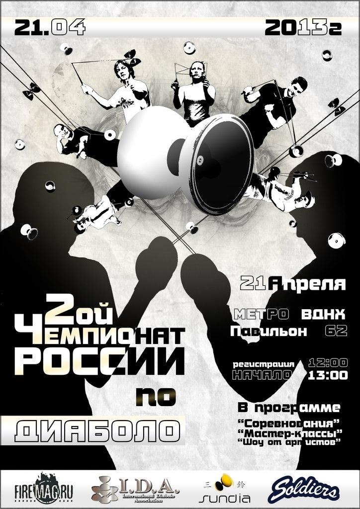 2-й Чемпионат России по диаболо